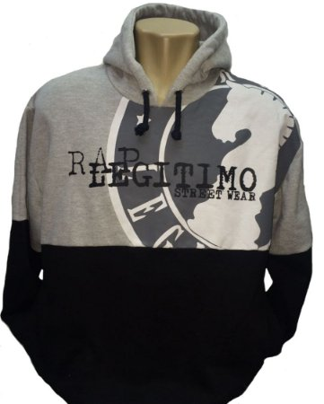 Moletom Rap Legítimo, street wear