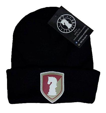 Touca Rap Legítimo, preta, escudo