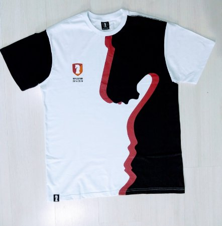 Camiseta Rap legítimo Branca Cavalo - Col 2020