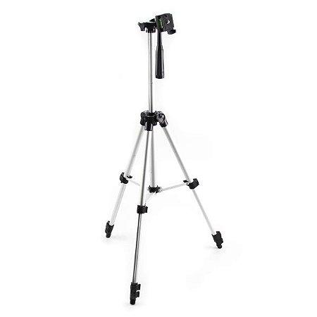 Tripé Para Câmera Fotográfica Alumínio 1,05m 4 Seções +bolsa