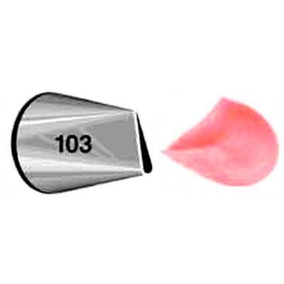 Bico De Confeitar Inox Wilton Pétala Flor N 103 Original