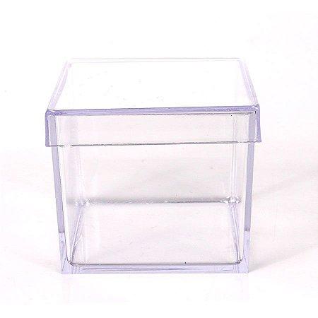 40 caixa de acrilico 5x5cm - Cada 0,69R$