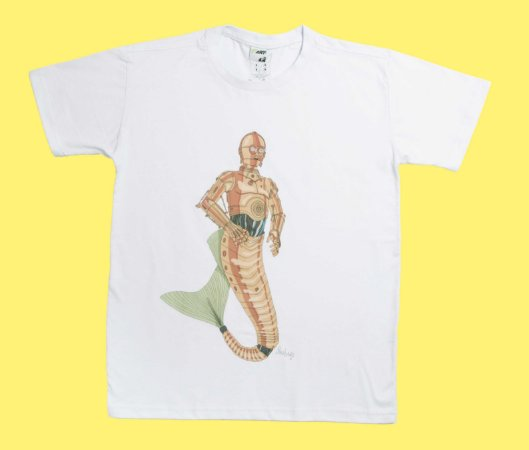 Camiseta C3PO Merman