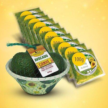 Kit Avocado com polpa