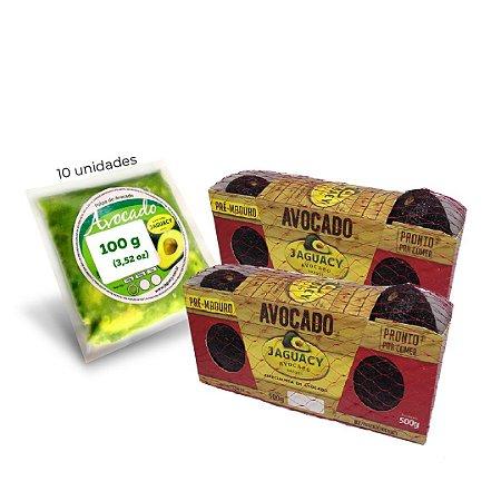 Kit Avocado pré-maduro com polpa