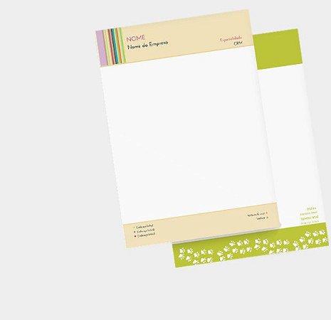 Timbrado Sulfite 90g - 4x0 Cores - 21x29,7 cm (A4)