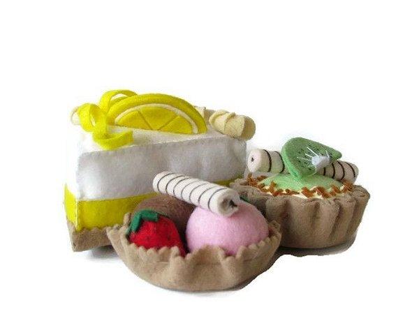 Kit Delicias - Doces de Feltro