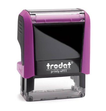 Carimbo Automático Trodat Printy 4.0 4911 - Rosa