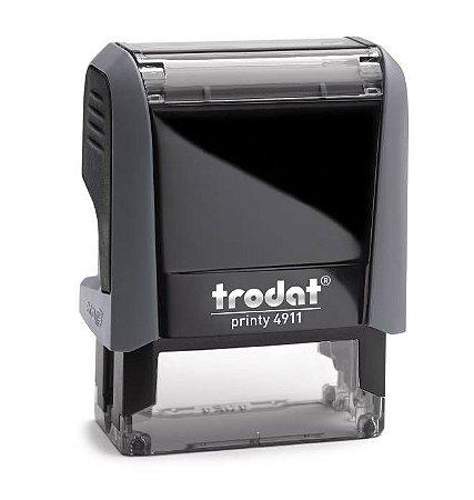 Carimbo Automático Trodat Printy 4911 4.0 - Cinza