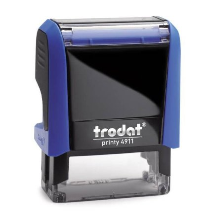 Carimbo Automático Trodat Printy 4.0 4911 Azul
