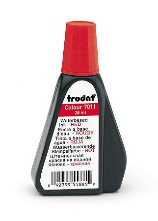 Tinta pra Carimbo Automático Trodat 7011 Vermelho