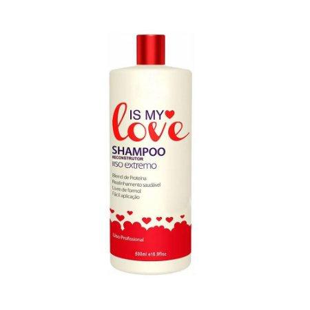Shampoo Is My Love Alisante Shampoo que Alisa - 500ml