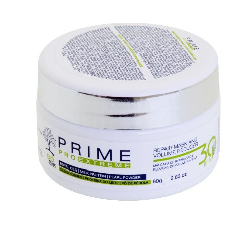 Sos Repair Mask and Volume Reducer - Máscara Reparadora e Redutor de Volume - Prime Pro Extreme 80g
