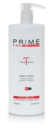Escova Progressiva Prime Pro Extreme Thermal Step 1 Shampoo 1000ml