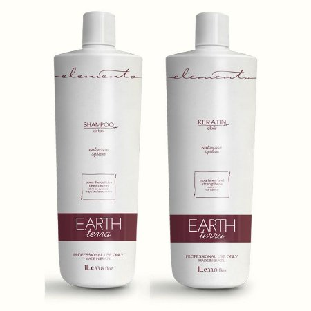 Elements Earth Escova Progressiva Keratin 2x1000ml