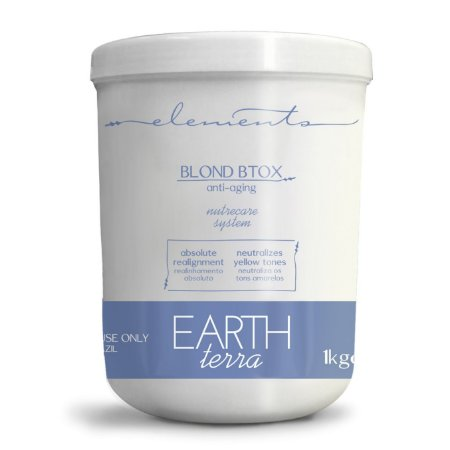 Elements Earth Blond Matiz Btox Capilar 1Kg