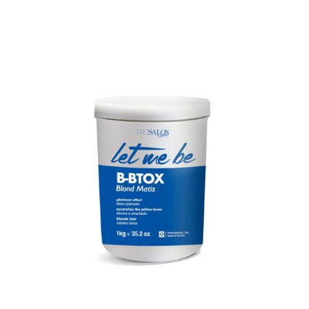 B-btox Let Me Be Blond Matiz 1Kg