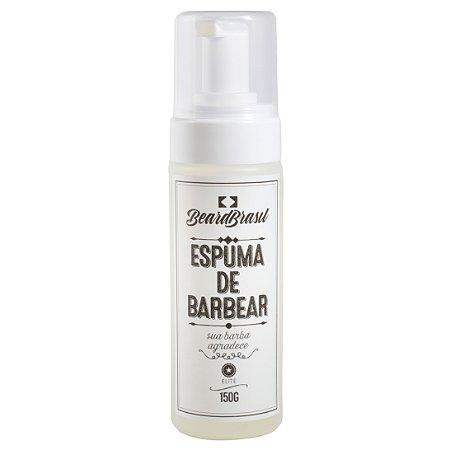 Espuma de barbear 150ml - Beardbrasil