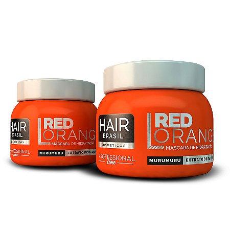 Máscara Vermelha Alaranjada Para Ruivas Red Orange Mask 250g - Hair Brasil