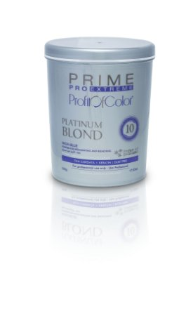 Pó Descolorante Profit of Color Platinum Blond 10 tons 500g - Prime Pro Extreme