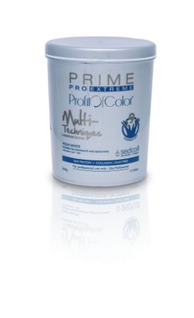 Pó Descolorante Profit of Color Multi-Techniques Luminum Blond 9 tons 500g - Prime Pro Extreme