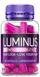Luminus Hair - Tratamento 30 dias - 1 pote com 30 cápsulas