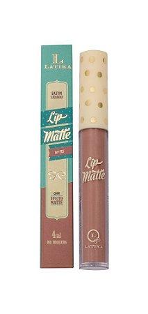 Lip Matte Latika Batom Líquido Nude nº 35