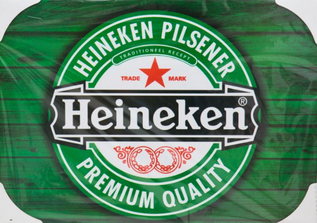 Placa Decorativa Retrô - Heineken