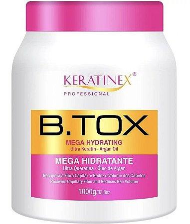 Keratinex Redutor Mega Hidratante Alinha e Reduz Volume - 1Kg