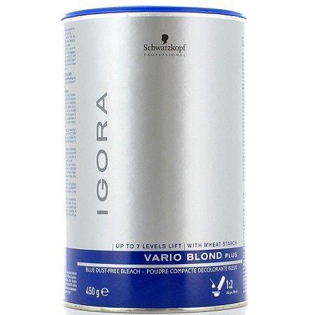 Pó Descolorante Schwarzkopf Igora Vario Blond Plus 450g