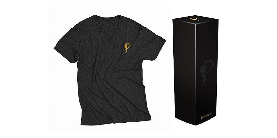 Camiseta Manga Curta Preta - Dr Pimenta