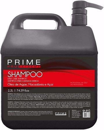 Shampoo de Lavatório Prime Pro Extreme - Argan, Macadâmia e Açaí 2,2 Litros