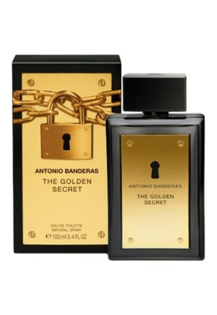 Perfume Masculino The Golden Secret Antonio Banderas - Eau de Toilette