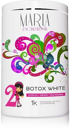 Beautox Capilar Maria Escandalosa White 1kg