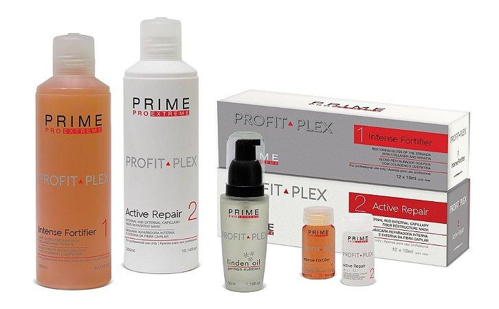 Kit Profit Plex - Tratamento Bloqueador de Danos - Reconstrução Capilar 300ml