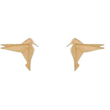 Brinco em ouro birds