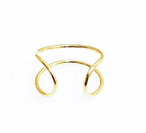 Piercing em ouro branco 18k