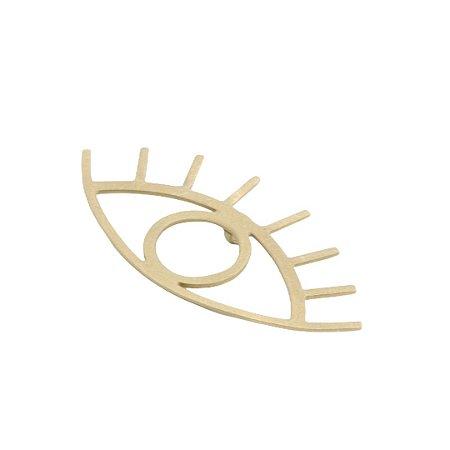 Pingente olho grego em ouro amarelo 18k