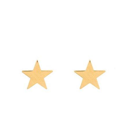 Brinco em ouro amarelo 18K Star