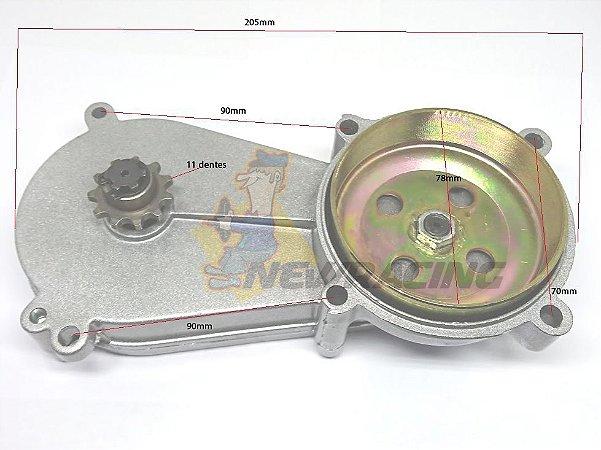 Transmissão mini moto 49cc 2-T