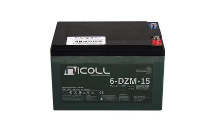 Bateria Nicoll 12v15ah