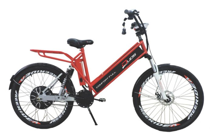Bicicleta  Elétrica Duos Confort Full 800w 48v