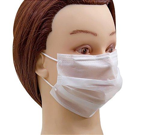 Máscara Santa Clara TNT com elástico com 5 unidades