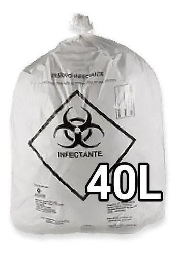 Saco p/lixo Hospitalar 40l 48x53x0,0025