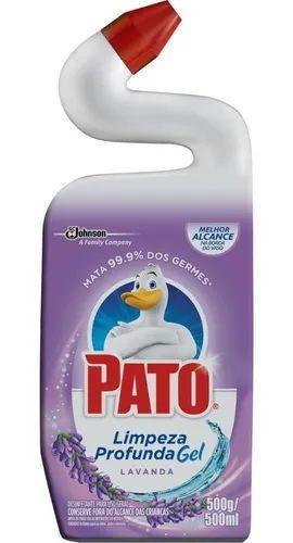 Limpador Sanitário Pato Gel Limpeza Profunda Lavanda 500ml