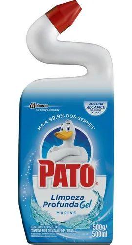 Limpador Sanitário Pato Gel Limpeza Profunda Marine 500ml
