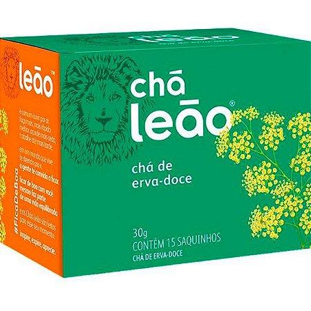 Chá De Erva Doce Leão Fuze Caixa Com 15 Sachês 20G