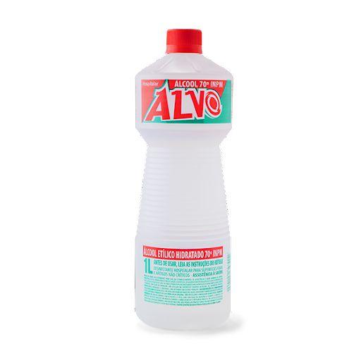 Álcool Líquido 70° 01 Lt  - Alvo
