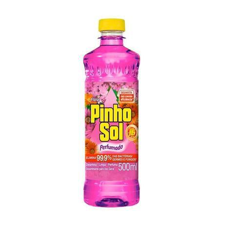 Desinfetante Pinho Bril 500ml Floral - Bom Bril