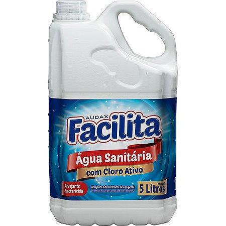 Agua Sanitária 05 Lt -Facilita  Audax